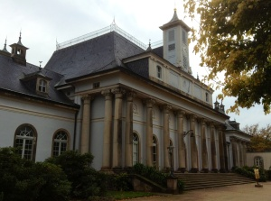 Another section of the Pillnitz Castle from the central courtyard