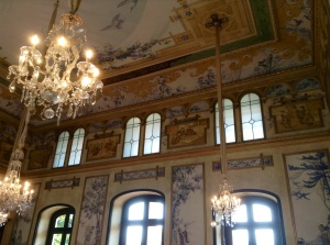 The Chinese room in the Pillnitz Castle