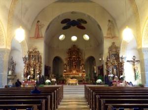 Zermatt Church Interior