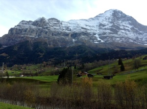 View of Switzerland between Lucerne and Grindelwald