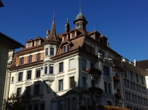 Luzern, Switzerland, building
