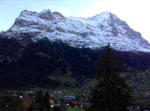 Unclouded View of Eiger Mountain, Grindelwald