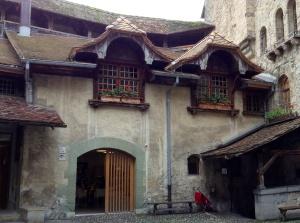 Chateau de Chillon near Montreux, Switzerland