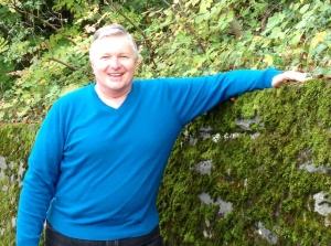 Wayne Graumann - November 5, 2013 - Lake Geneva promenade near Chateau de Chillon, Switzerland