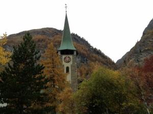 Zermatt Church Exterior