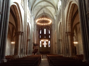 St. Peter's Cathedral, the church of Calvin, in Geneva, Switzerland