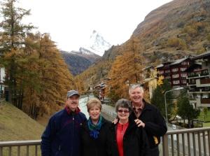 The Matterhorn with Ken & Paula, Wayne & Kathy