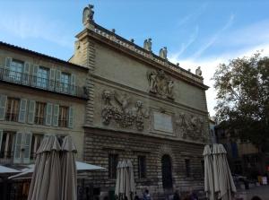 Avignon, France - The Place de L'horloge