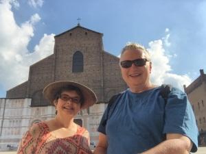 Wayne & Kathy, Bologna, Italy - August 25, 2015