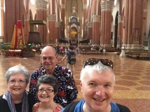 Rhonda & Allen Krahn, Wayne & Kathy Graumann - August 25, 2015
