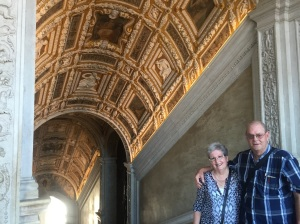 Rhonda & Allen inside the Doges Palace