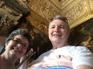Wayne & Kathy inside the Doges Palace