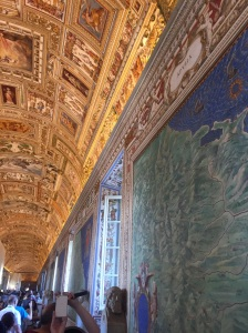 Gallery of Maps in the Vatican Museum