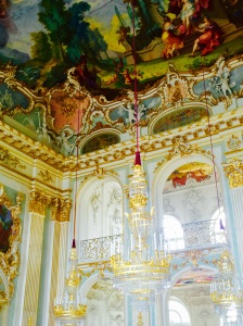 The Great Hall in Munich's Nymphenburg Palace