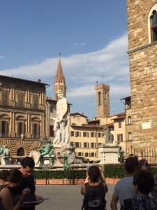 The Piazza Signorelli in Florence