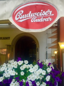 The original Budweiser brewing company is located a brief bus ride from Cesky Krumlov's town center.