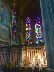 A brief sample of the beautiful interior of St. Stephen's Cathedral in Vienna, Austria
