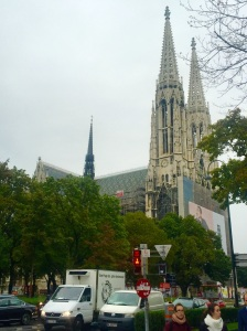 St. Stephen's Cathedral, Vienna, Austria, from a distance