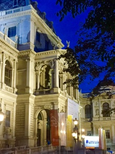 Vienna, Austria - a night scene