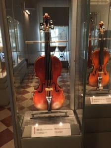 The Stradivarius Red Violin in the Accademia in Florence