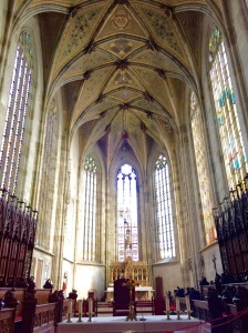 The Cathedral of St. Martin in Bratislava, Slovakia