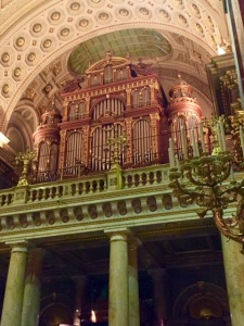 St. Stephen's Basilica pipe chamber in Budapest