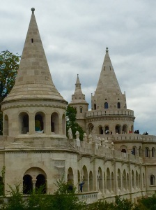 Fishermen's Bastion on Castle Hill - The entire Casstle District is a UNESCO World Heritage Site