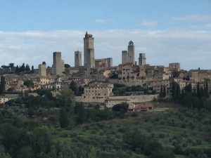The beautiful hill town of San Gimignano with its 14 towers