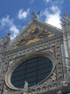 Another view of Sienna's breathtaking Duomo