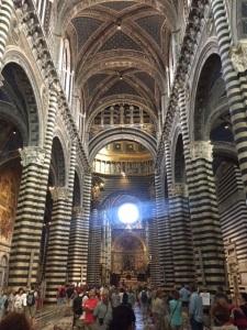 Inside Sienna's Duomo