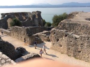 Third century Roman ruins found in Sirmione, Italy