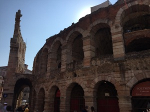 The Arena in Verona, Italy