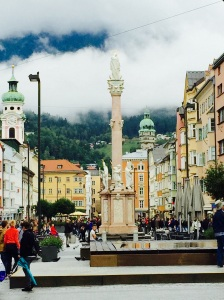 Innsbruck's beautiful Old Town