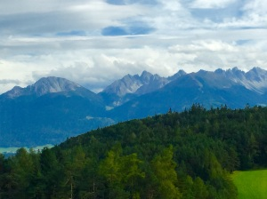 View from the train that carried us from Innsbruck to Mittenwald