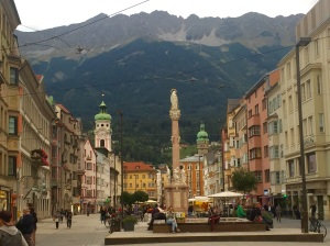 We return in early evening to our lodging in Innsbruck after an enjoyable afternoon in Mttenwald