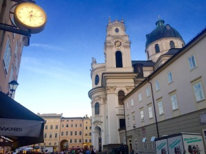 Salzburg's central Old Town