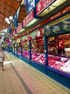 Inside Budapest's Central Market Hall