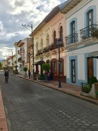Cotacachi, Ecuador, street scene