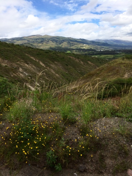 On the road to Otavala, Ecuador