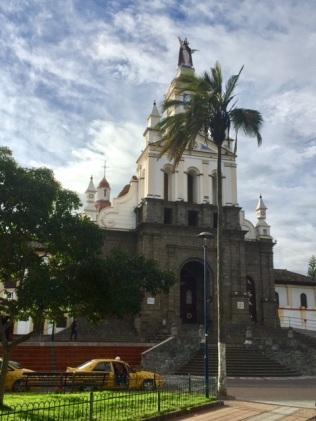 Catedral La Matriz in Cotacachi, Ecuador