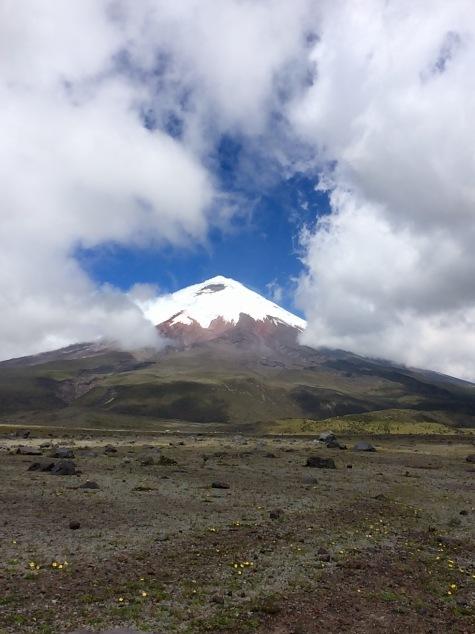 Cotopaxi Volcano in Cotopaxi National Park, Ecuador