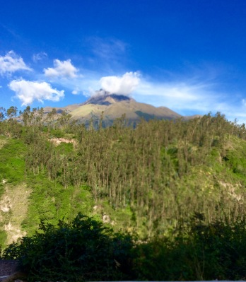 Mountainous beauty surrounds us from the region around Cotacachi, Ecuador. May 2017