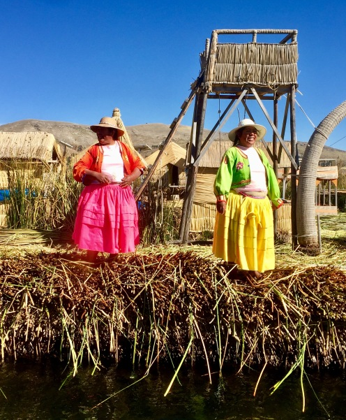 The Uros People of the Floating Islands of Lake Titicaca