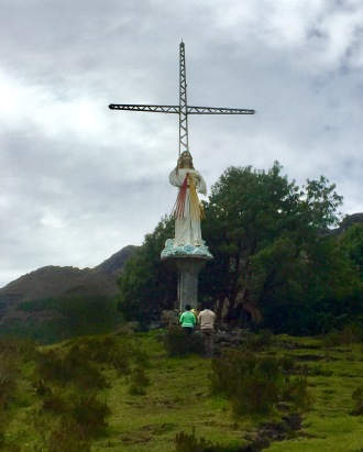 "Shrine of ""El Cajas"" to Mary, Guardian of the Faith, Cajas National Park, Ecuador"