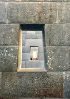 Inside the Incan Temple of the Sun, Cuzco, Peru