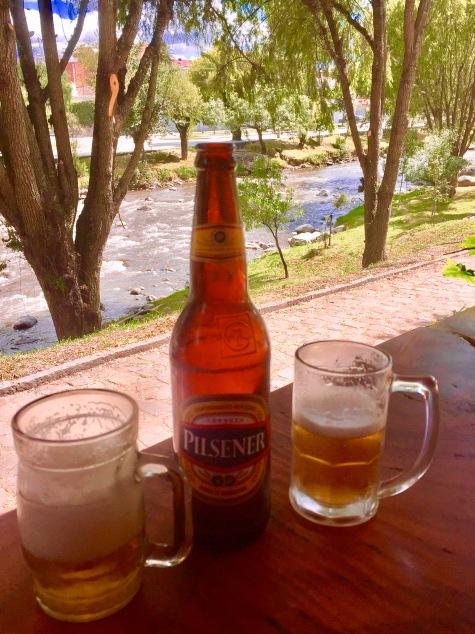 Cuenca, Ecuador, overlooking the Tomebamba River