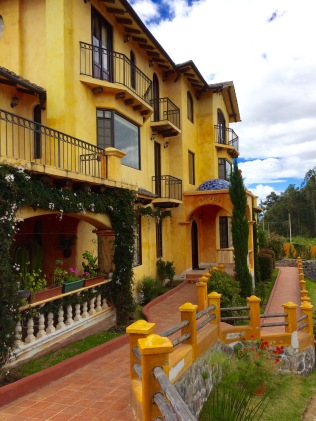 Cotacachi, Ecuador - Compound where U.S. Expatriates live within the city limits