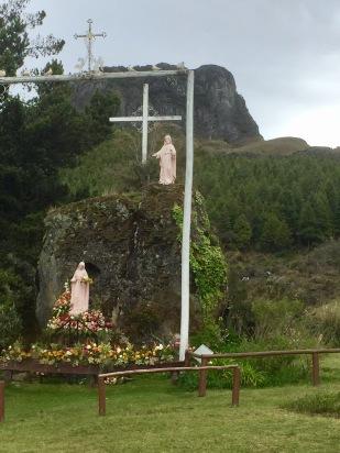 Sanctuario de la Virgen del Cajas, Ecuador