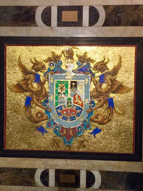Coat of Arms of Francisco Pizarro, founder of Lima, Peru