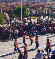 The Corpus Christi Celebration Continues in Cuzco, Peru